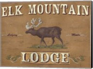 Lodge Sign III Fine-Art Print