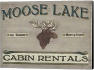 Lodge Sign IV Fine-Art Print