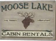 Lodge Sign IV Fine-Art Print