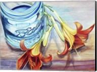 Ball Jar Flower I Fine-Art Print