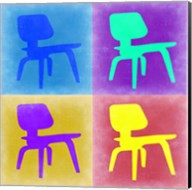 Eames Chair Pop Art 4 Fine-Art Print