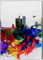 San Francisco Watercolor Skyline 1 Fine-Art Print