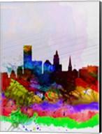 Providence Watercolor Skyline Fine-Art Print
