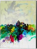 Beijing Watercolor Skyline Fine-Art Print