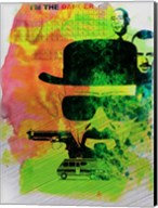 Heisenberg Watercolor Fine-Art Print