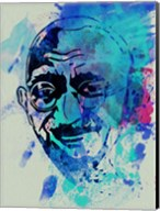 Gandhi Watercolor 1 Fine-Art Print