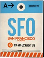 SFO San Francisco Luggage Tag 1 Fine-Art Print
