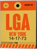 LGA New York Luggage Tag 1 Fine-Art Print