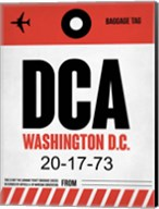 DCA Washington Luggage Tag 1 Fine-Art Print