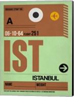 IST Istanbul Luggage Tag 2 Fine-Art Print
