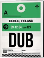 DUB Dublin Luggage Tag 1 Fine-Art Print