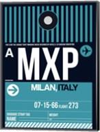 MXP Milan Luggage Tag 2 Fine-Art Print