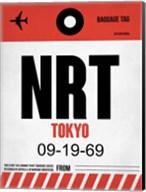 NRT Tokyo Luggage Tag 1 Fine-Art Print