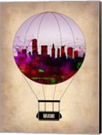 Miami Air Balloon 2 Fine-Art Print
