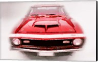 1968 Chevy Camaro Front End Fine-Art Print