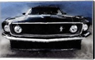 1968 Ford Mustang Shelby Front Fine-Art Print