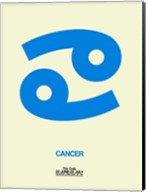 Cancer Zodiac Sign Blue Fine-Art Print