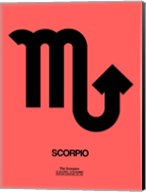 Scorpio Zodiac Sign Black Fine-Art Print