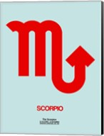 Scorpio Zodiac Sign Red Fine-Art Print