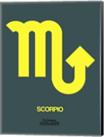 Scorpio Zodiac Sign Yellow Fine-Art Print