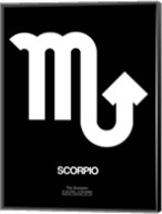 Scorpio Zodiac Sign White Fine-Art Print