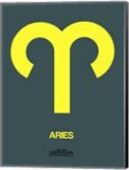 Aries Zodiac Sign Yellow Fine-Art Print