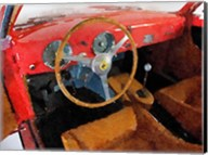 Ferrari 225 S Berlinetta Interior Fine-Art Print