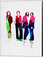 Beatles Watercolor Fine-Art Print