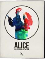 Alice Watercolor Fine-Art Print