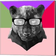 Party Panther in Glasses Fine-Art Print