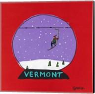 Vermont Snow Globe Fine-Art Print