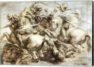 The Battle of Anghiari after Leonardo da Vinci Fine-Art Print