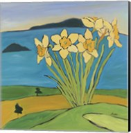 Daffodils On The Hill Fine-Art Print