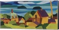 View Of Stonington Harbor Fine-Art Print