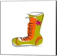 Green and Orange Boot Fine-Art Print