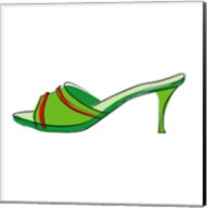 Green Sandal 2 Fine-Art Print