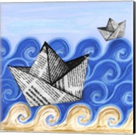 Paper Boats Fine-Art Print