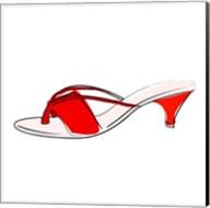 Red Sandal Fine-Art Print