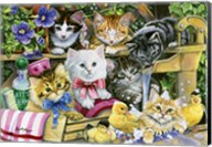 Bathtime Kittens Fine-Art Print