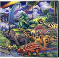 Dinosaur Friends Fine-Art Print