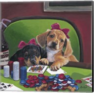 Poker Dogs 3 Fine-Art Print