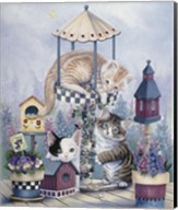 Cat Carousel Fine-Art Print