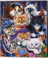 Kittens In Closet Fine-Art Print
