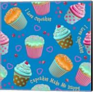 Cupcake Blue Fine-Art Print
