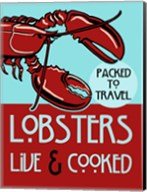 Lobsters Live Cooked Fine-Art Print