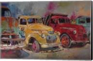 Trucks In Montrose Fine-Art Print