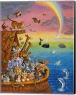 Noah & The Rainbow Fine-Art Print