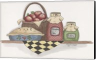 Apple Pie With Basket Fine-Art Print