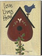 Love Lives Here! Fine-Art Print