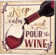 Pour the Wine Fine-Art Print
